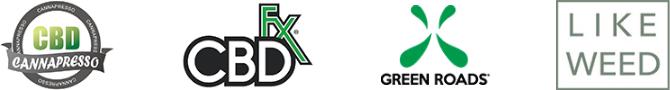 CANNAPRESSO/CBD FX/GREEN ROADS/LIKE WEED
